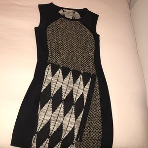 Rachel Rachel Roy multi patterned dress